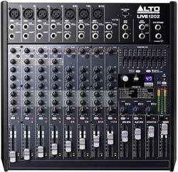 Image of Konsolen-Mischpult Alto Live 1202 Anzahl Kanäle:12 USB-Anschluss