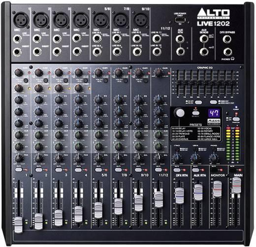 Konsolen-Mischpult Alto Live 1202 Anzahl Kanäle:12 USB-Anschluss