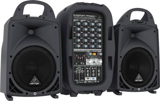 passives pa lautsprecher set behringer ppa500bt integriertes mischpult inkl mikrofon. Black Bedroom Furniture Sets. Home Design Ideas