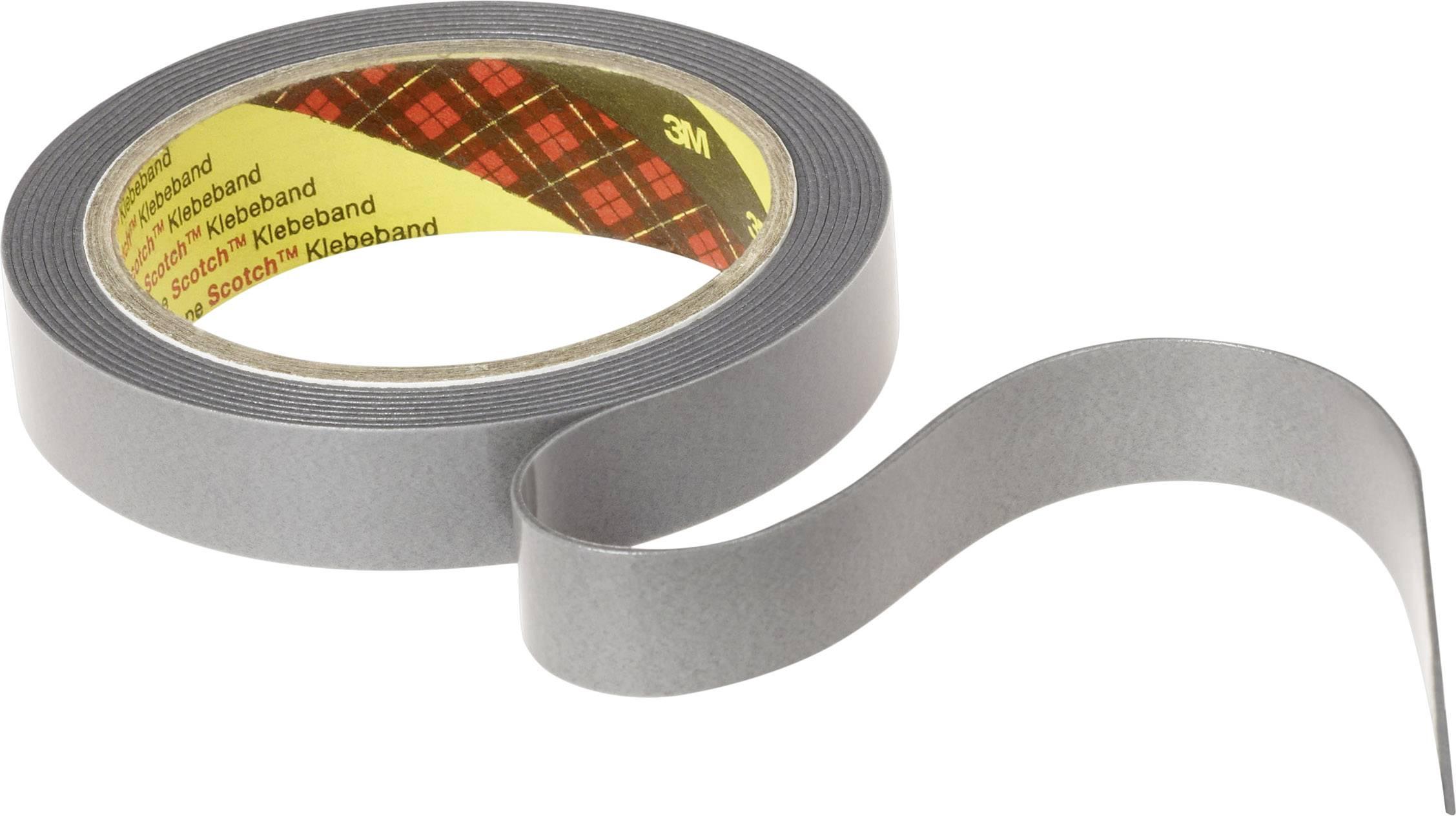 3M Doppelseitiges Klebeband VHB 4952P weiß 3m x 19mm für Kunststoffe PVC PE PP