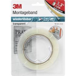 Obojstranná lepiaca páska 3M PX5011 8899195, (d x š) 5 m x 19 mm, akryl, priehľadná, 1 ks