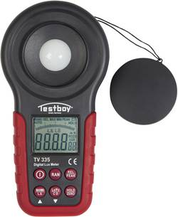 Luxmètre LED TV 335 Testboy TV 335 Jusqu'à 400 000 lx