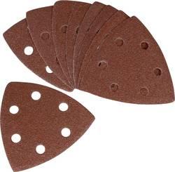 Brusný papír pro delta brusky Ferm PSA1033 PSA1033 na suchý zip, Zrnitost 80, 10 ks