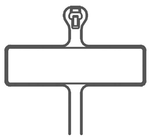 kabelbinder 107 mm natur mit metallzunge panduit bm1m c bm1m c 1 st kaufen. Black Bedroom Furniture Sets. Home Design Ideas