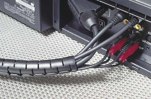 Kabelschlauch 27 mm (max) Schwarz HWPP-25MM-PP-BK-Q1 HellermannTyton 25 m