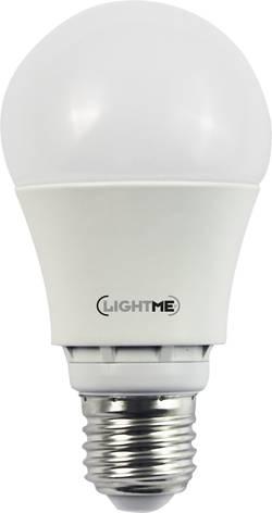 Ampoule LED unicolore LightMe LM85141 230 V E27 6.5 W=40 W de blanc chaud à blanc froid classe A+ forme standard à int