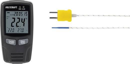 Multi-Datenlogger VOLTCRAFT DL-141 TH2K -200 bis +1300 °C 0 bis 100 % rF Kalibriert nach ISO