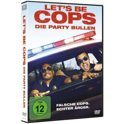 DVD Lets Be Cops Die Party Bullen FSK: 12 Preisvergleich