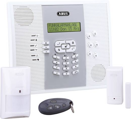 Funk-Alarmanlagen-Set ABUS Privest FUAA30000 Alarmzonen (Funk) 32 Alarmzonen (Draht) 1 B-WARE
