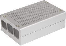 Kryt pro Raspberry Pi® Joy-it Aluminium Gehäuse B+ / 2 B / 3 B