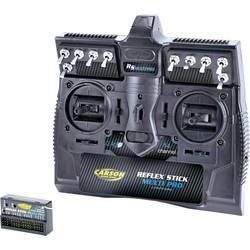 Ručné diaľkové ovládanie Carson Modellsport Reflex Stick MULTI PRO 14, 2,4 GHz, Kanálov 14, vr. prijímača