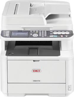 Laserová multifunkční tiskárna OKI MB472dnw, LAN, Wi-Fi, duplexní, ADF