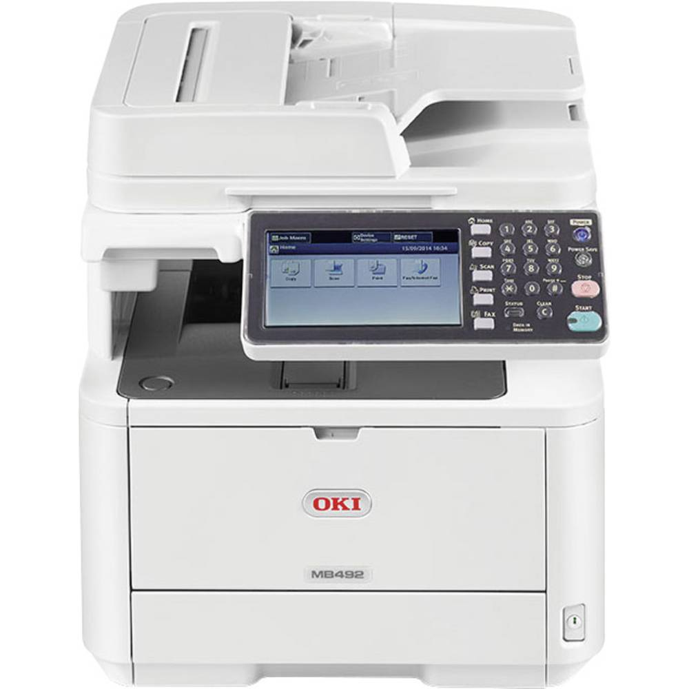 OKI MB492dn Monolaser-Multifunktionsdrucker A4 Drucker, Scanner ...