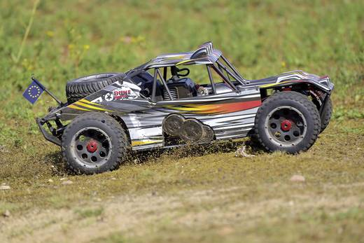 Reely Dune Fighter 1:5 RC Modellauto Benzin Buggy Heckantrieb RtR 2,4 GHz