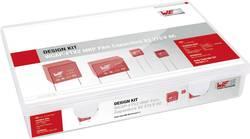 Sada foliových kondenzátorů Würth WCAP-FTX2, radiální, 275 V, 10 %, 890324, 61 ks
