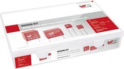 Sada foliových kondenzátorů Würth WCAP-FTXX, radiální, 310 V, 10 %, 890334, 61 ks