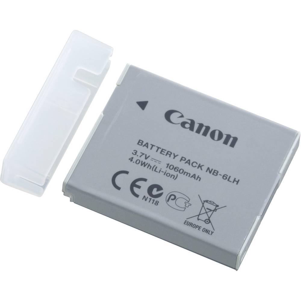 batterie pour appareil photo canon nb 6lh 3 7 v 1060 mah. Black Bedroom Furniture Sets. Home Design Ideas