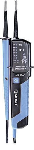 Metrel MD 1060 Zweipoliger Spannungsprüfer CAT III 1000 V, CAT IV 600 V LED, Akustik DAkkS