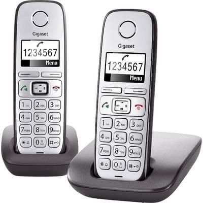 Schnurloses Seniorentelefon Gigaset E310 Duo Freisprechen Beleuchtetes Display Silber, Ant Preisvergleich