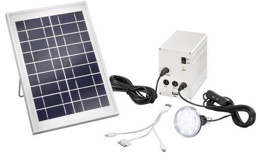 Solar-Ladegerät Esotec Multipower 5W 120001 Ladestrom Solarzelle 560 mA 5 W Kapazität (mAh, Ah) 4000 mAh