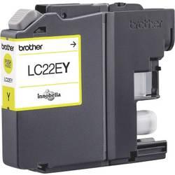 Náplň do tlačiarne Brother LC-22EY LC22EY, žltá