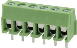 Bornier à vis Degson DG350-3.5-03P-14-00AH 2 mm² Nombre total de pôles 3 vert 1 pc(s)