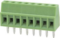 Bornier à vis Degson DG308-2.54-08P-14-00AH 0.82 mm² Nombre total de pôles 8 vert 1 pc(s)