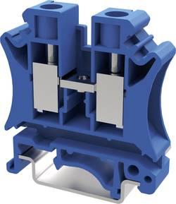 Bloc de jonction traversant Degson PC10-01P-12-00AH 10.2 mm à vis bleu 50 pc(s)