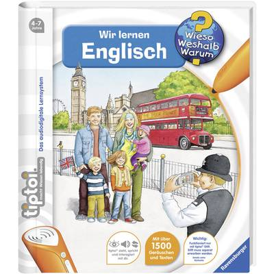 Ravensburger tiptoi® Wir lernen Englisch Preisvergleich