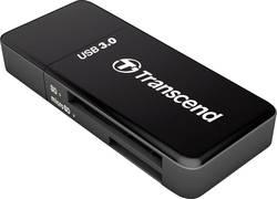 Externí čtečka paměťových karet Transcend RDF5K TS-RDF5K, USB 3.0, černá
