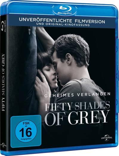 blu-ray Fifty Shades of Grey - Geheimes Verlange FSK: 16