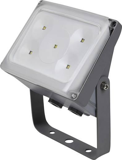 ECO-Light 6170S SI LED-Außenstrahler 10 W Kalt-Weiß Silber