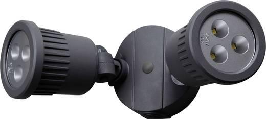 ECO-Light Tumbler 6158 GR LED-Außenstrahler 18 W Kalt-Weiß Anthrazit