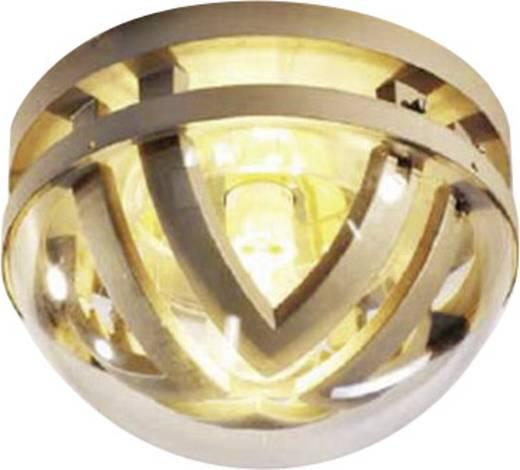 Bad-Deckenleuchte Halogen E27 100 W ECO-Light Delta 3321 si Silber