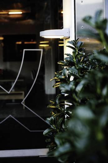 ECO-Light Origo 1849 si Außenwandleuchte Energiesparlampe, LED E27 20 W Silber