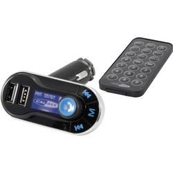 FM vysielač Caliber Audio Technology PMT 557BT, vr. handsfree, s diaľk. ovládačom