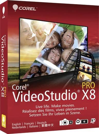 Corel VideoStudio® Pro X8 Vollversion, 1 Lizenz Windows Videobearbeitung