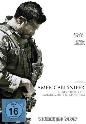 DVD American Sniper FSK: 16