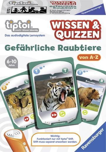 Ravensburger tiptoi® Wissen & Quizzen: Gefährliche Raubtiere