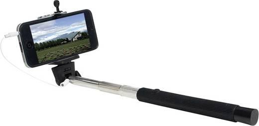 Selfie Stick LogiLink Monopod BT0032 8.5 cm Schwarz/Edelstahl