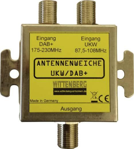 Antennenweiche UKW, DAB+ Wittenberg Antennen Duplexeur d'antenne FM/DAB+