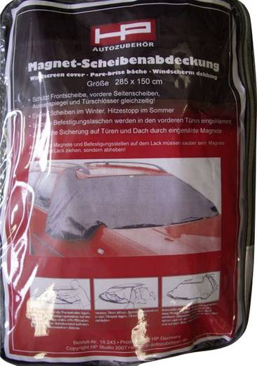Scheibenabdeckung Front- & Seitenscheibenschutz, Diebstahlschutz (B x H) 285 cm x 97 cm HP Autozubehör Pkw, Wohnmobile