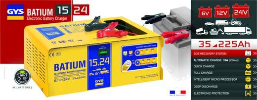 GYS BATIUM 15.24 024526 Automatikladegerät 6 V, 12 V, 24 V 22 A 22 A