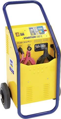 Nabíječka autobaterie, systém pro rychlé startování auta GYS STARTIUM 480E 12 V, 24 V