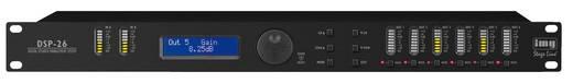 2-Kanal 19 Zoll Frequenzweiche IMG STAGELINE DSP-26 mit Display