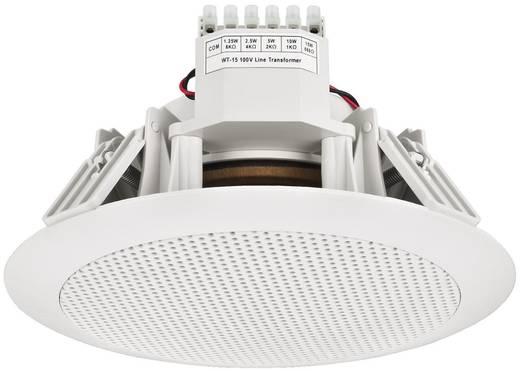 ELA-Einbaulautsprecher Monacor EDL-155 Weiß 1 St.