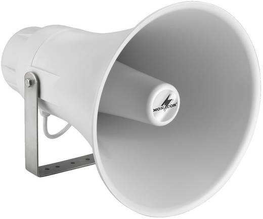 ELA-Druckkammerlautsprecher Monacor IT-60 60 W Hellgrau 1 St.