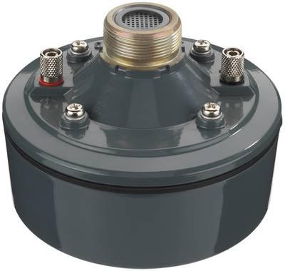 Innenleben eines Deckenlautsprechers: Dieser Treiber im Frequenzbereich 160 bis 6.500 Hz erreicht als Verstärker 113 dB.