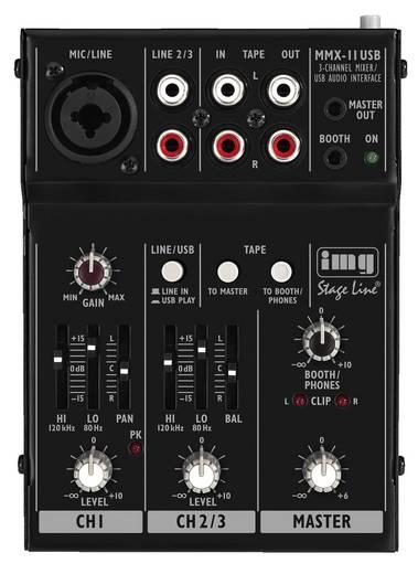 IMG Stage Line MMX-11USB, 2-Kanal-Audio-Miniatur-Mischpult