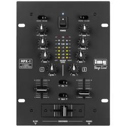 Image of IMG STAGELINE MPX-1/BK DJ Mixer